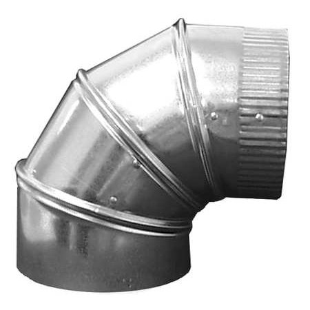 "GREENSEAM 90 Degree Elbow,14"" Duct Size GRAE1490GA26"