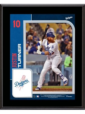 """Justin Turner Los Angeles Dodgers 10.5"""" x 13"""" Sublimated Player Plaque"""
