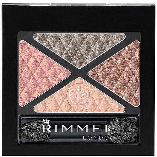 Rimmel Glam'Eyes Quad Eye Shadow, Diamond Jubilee, 0.148 oz