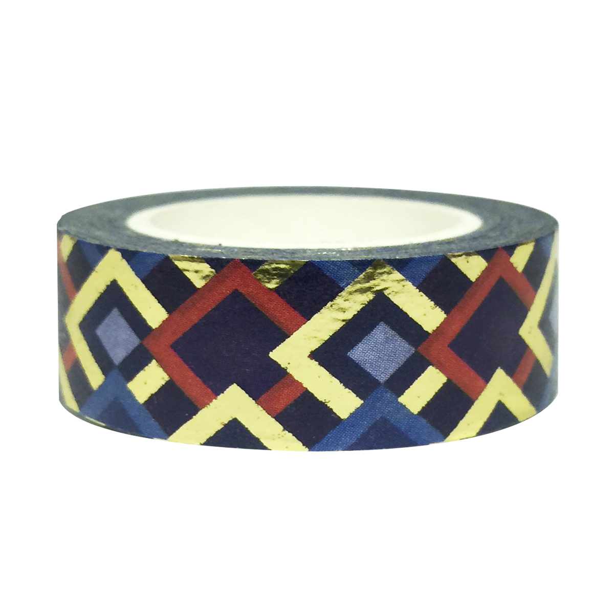 Wrapables® Colorful Washi Masking Tape, Mystery Magic Diamonds