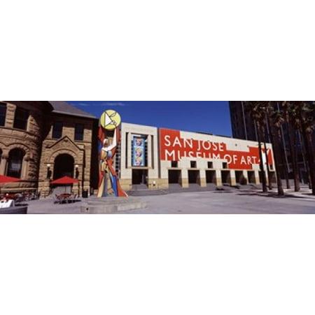 Art museum in a city San Jose Museum Of Art Downtown San Jose San Jose Santa Clara County California USA Canvas Art - Panoramic Images (36 x 13) - Party City In San Jose