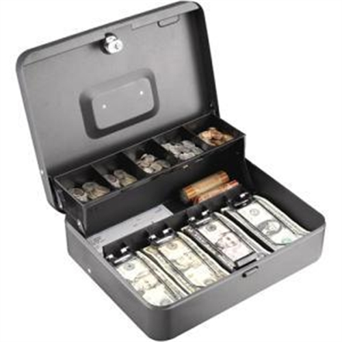 MMF POS Tiered Tray Cash Box 2216194G2