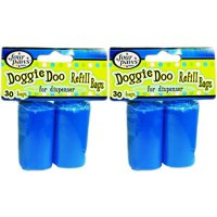 Four Paws Doggie Doo Pet Waste Refill Bags For Dispenser- 2 Pack