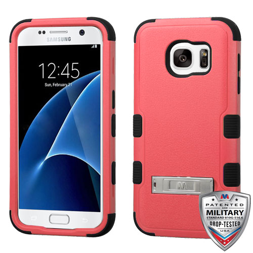 For Samsung Galaxy S7 Natural TUFF Rugged Phone Protector Case Cover w/Stand
