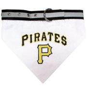 Pets First MLB Pittsburgh Pirates Dogs and Cats Collar Bandana - Large