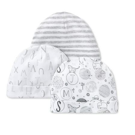 Cotton Caps, 3pk (Baby Boys or Baby Girls Unisex)