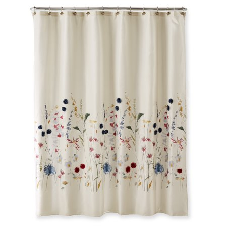 Better Homes Gardens Embellished Meadow Shower Curtain