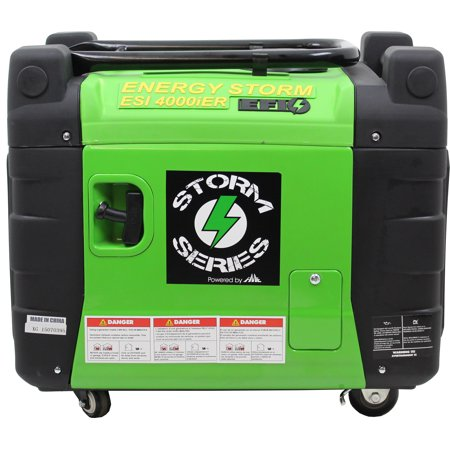 Energy Storm ESi4000iER-EFI features Remote Electric Start/Stop Electronic  Fuel Injected Gasoline Powered Digital Inverter Generator -50 State and