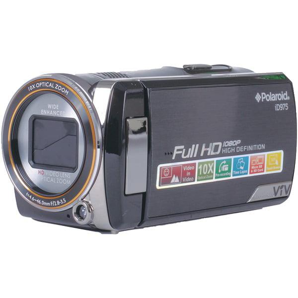 Polaroid ID975-BLK 16.0 Megapixel Digital Video Camcorder
