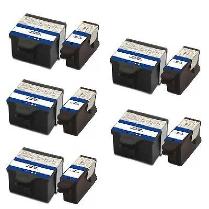 Inktoner 10 PK Print Ink Set + Chip for Kodak Series 10 E...