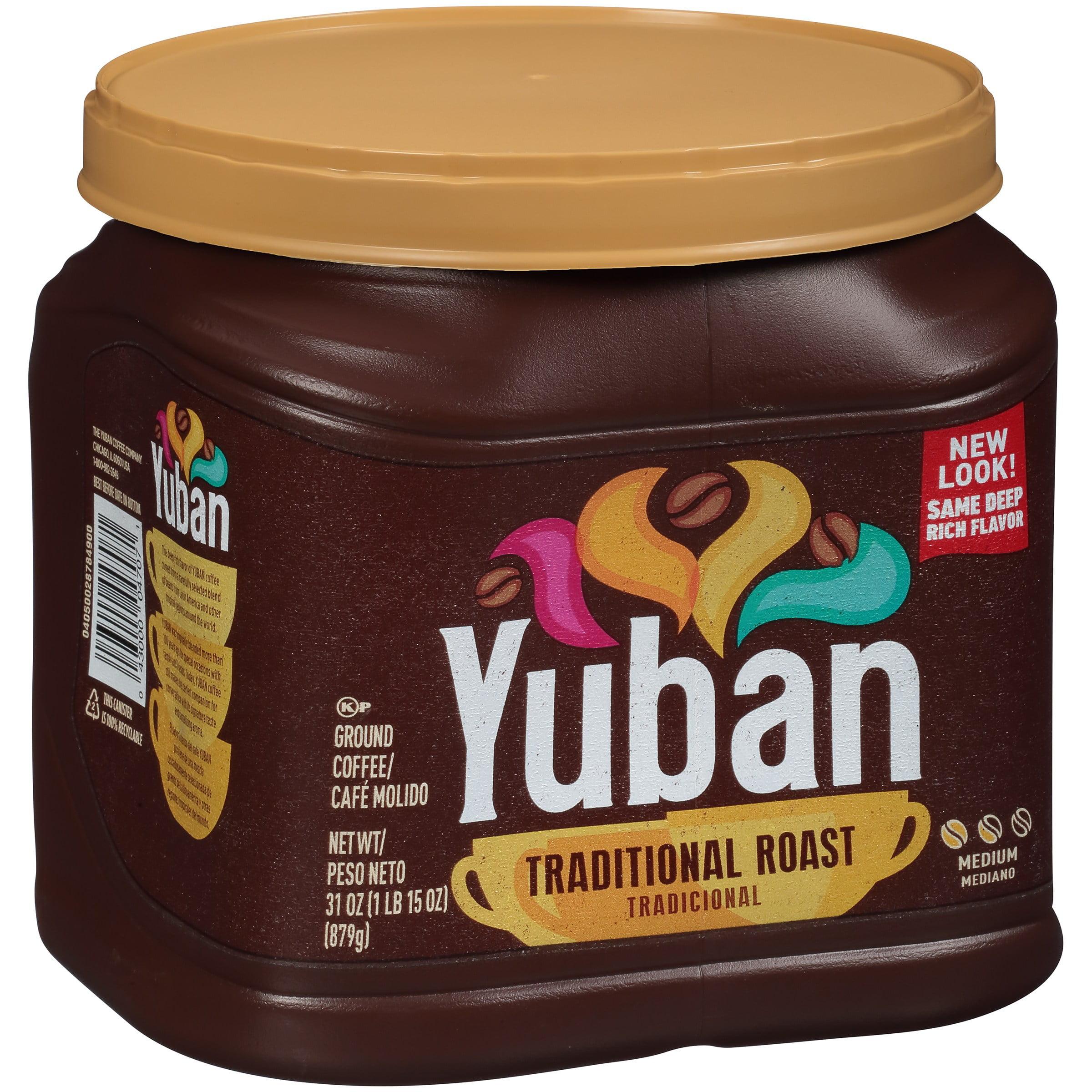 Yuban Original Premium Ground Coffee Medium Roast, 31 oz