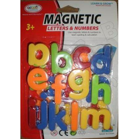 Magnetic Alphabet Letters Foam - Lower Case Alphabet Magnetic Letter Assortment