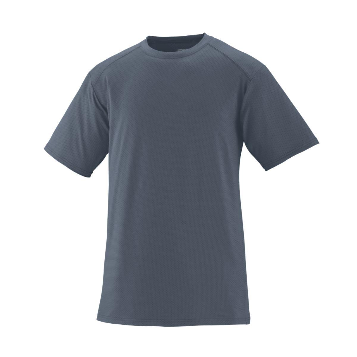 Augusta Sportswear Men's Exa Short Sleeve Crew S Graphite - image 1 of 1