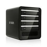 ICY DOCK Storage MB561U3S-4SB 4Bay USB3.0 2.5inch 3.5inch SATA HDD/SSD External Enclosure Black Retail