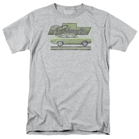 Chevrolet Automobiles Chevy Faded 1971 Vega Classic Car Adult T-Shirt Tee