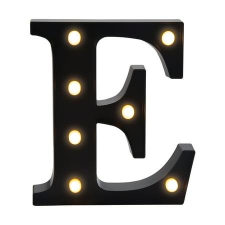 Elements Letter E 10