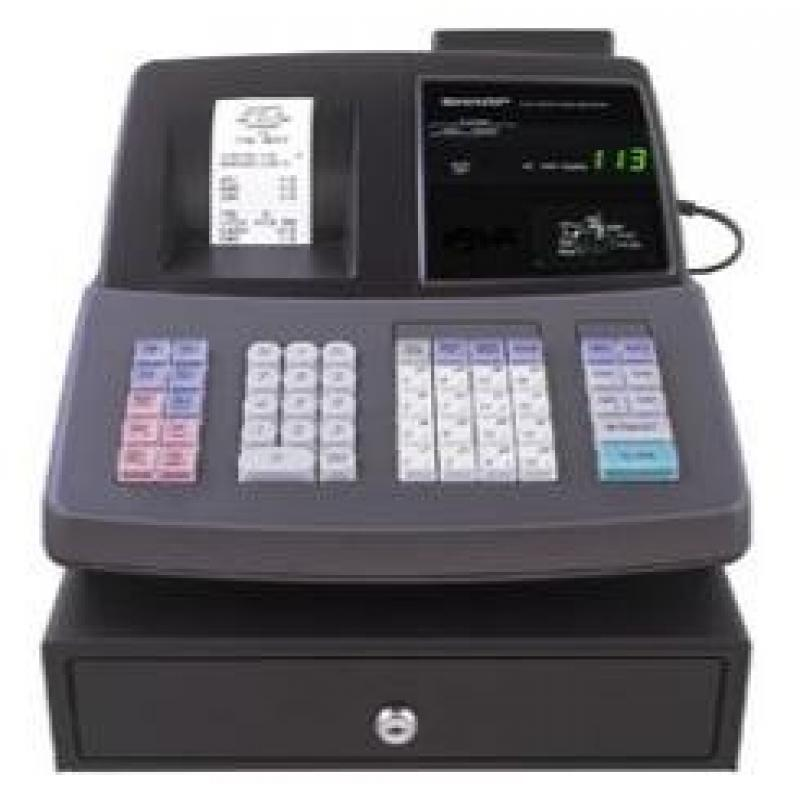 Sharp Xe-A407 Thermal 99 Dept Cash Register