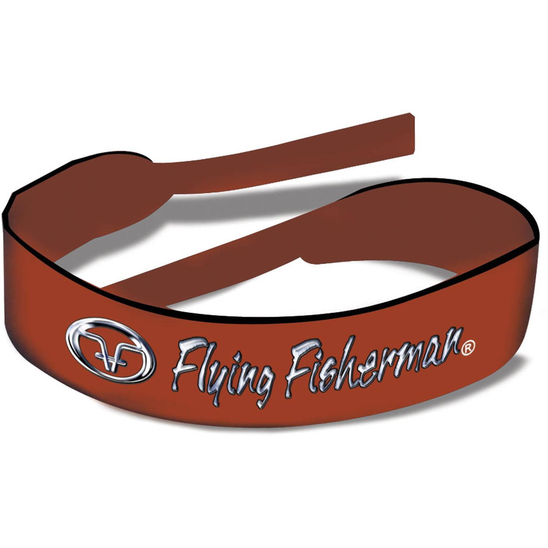 Flying Fisherman Rust Logo Neoprene Retainer