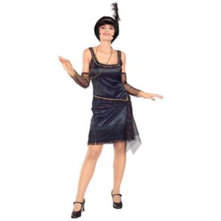 Adult Speak Easy Flapper Costume Rubies 16550 - Cheap Easy Adult Costumes