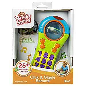 Bright Starts Click and Giggle Remote by Bright Starts