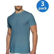 Men's Short Sleeve Crew Assorted Colors T-Shirt, 3-Pack