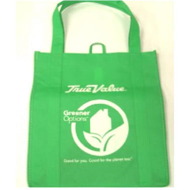 1 Bag At A Time-Import 290726 True Value Reusable Shopping Bag, Green - image 1 of 1