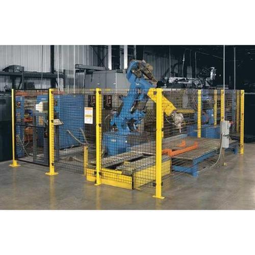 WIREWAY/HUSKY X07066 Machine Guard Panel,6 ft. W x 6 ft. H G2949628