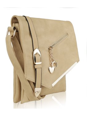 MKF Collection by Mia K. Jasmine Crossbody Shoulder Bag