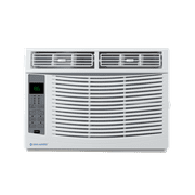 Cool-Living 6,000 BTU 115-Volt Window Air Conditioner with Digital Display and Remote, White