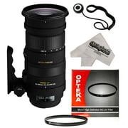 Sigma 50-500mm F4.5-6.3 APO DG OS HSM Telephoto Zoom Lens with UV Filter for Canon EOS 1DX, 70D, 60D, 60Da, 50D,1Ds, 7D, 6D, 5D, 5DS, Rebel T6s, T6i, T5i, T5, T4i, T3i, T3, T2i and SL1 Digital Cameras