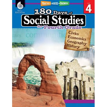180 Days of Social Studies for Fourth Grade (Grade 4) : Practice, Assess, Diagnose - Halloween Color By Number 4th Grade