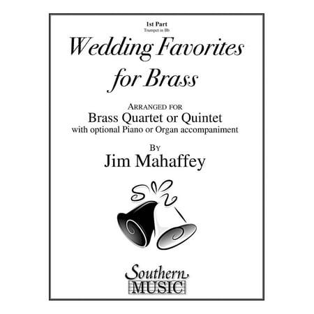 Southern Wedding Favorites for Brass (Part 1 - Trumpet) Southern Music Series Arranged by Jim Mahaffey (Wedding Favorites)