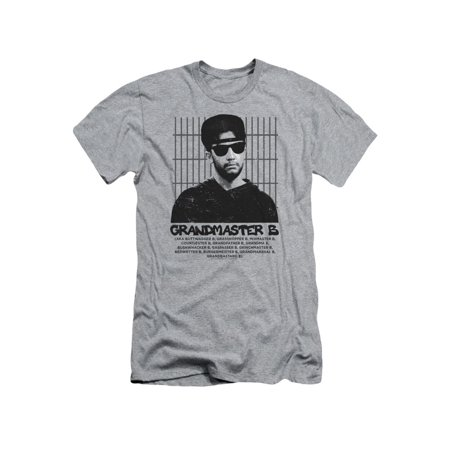 Aka Mens Tee - Married With Children- Grandmaster B (Aka... Slim Fit T-Shirt Size M