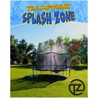 DecorX Trampoline Sprinkler - Kids Fun Summer Outdoor Water Park Game Sprinkler - Waterpark Toys for Boys Girls and Adults - Accessories Included - Trampoline NOT Included