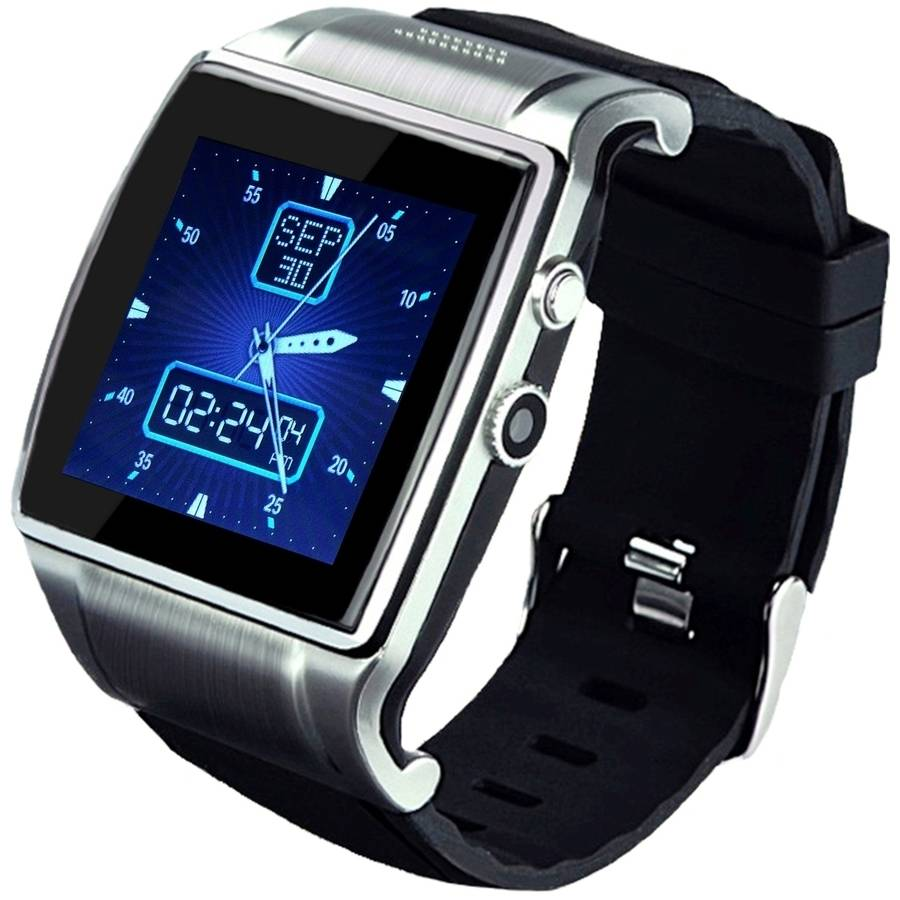 "LINSAY 1.5"" Smart Watch Executive with Camera and Micro SD Card Slot for up to 64GB"