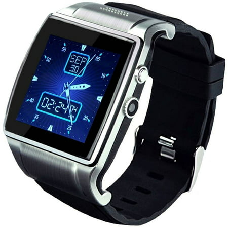 Linsay 1 5  Smart Watch Executive With Camera And 8Gb Memory