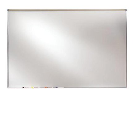 4 ft. x 4 ft. Aluminum Frame Magnetic Projection - Projection Plus Markerboard