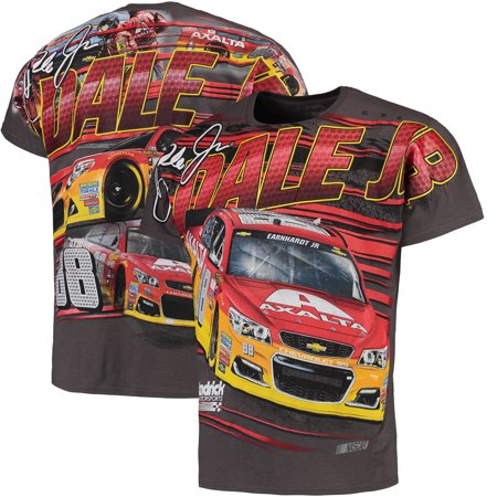 Dale Earnhardt Jr. Axalta Allover T-Shirt - Charcoal Dale Earnhardt Jr Apparel