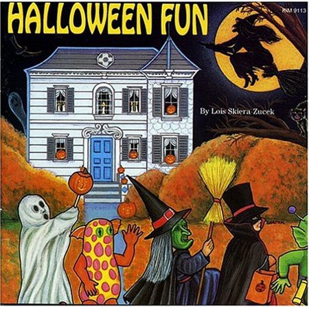 Kimbo Educational KIM9113CD Halloween Fun Songs CD For (Vintage Children's Halloween Songs)