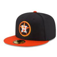 d55379f591e Men s New Era Navy Orange Houston Astros Game Diamond Era 59FIFTY Fitted Hat