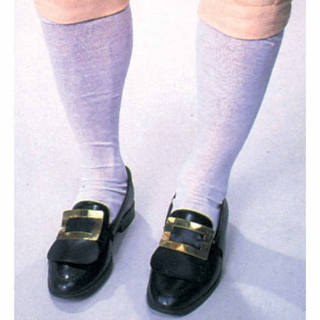 Colonial Men's Socks Adult Halloween Accessory