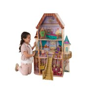Disney® Princess Belle Enchanted Dollhouse By KidKraft with 13 Accessories Included