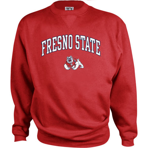 NCAA - Fresno State Bulldogs Kids/Youth Perennial Crewneck Sweatshirt