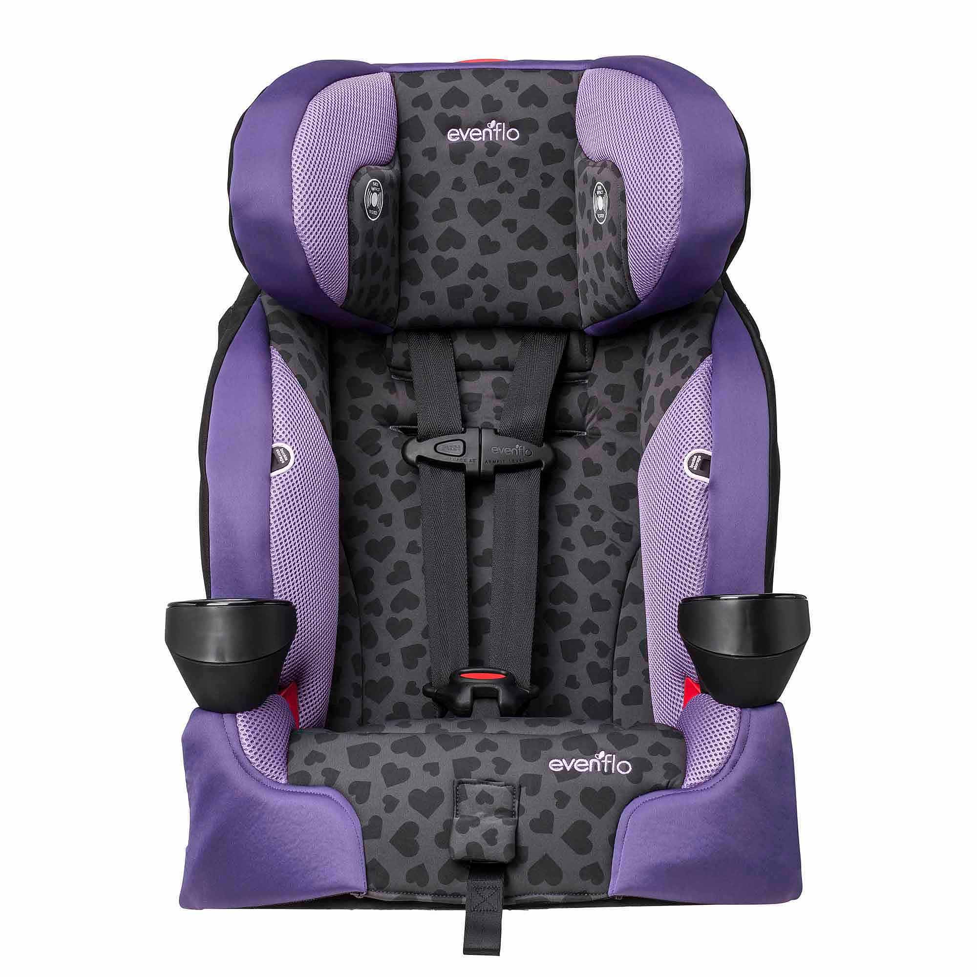 Evenflo SecureKid LX Harnessed Booster Car Seat, Anna
