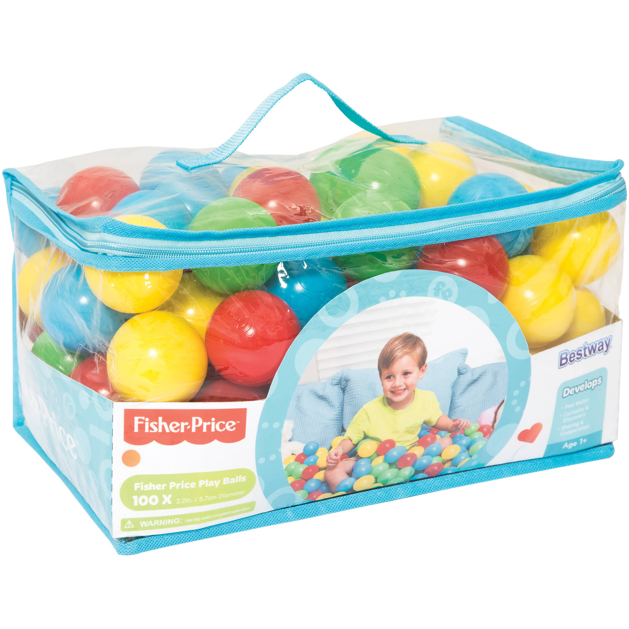 "Fisher-Price Play Balls, 2.2"", Pack of 100"