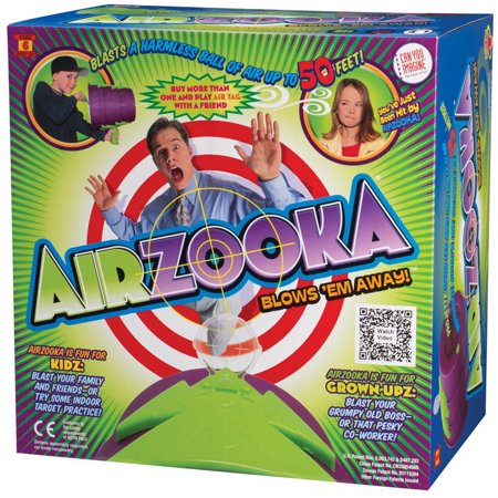 Can You Imagine Airzooka Air Shooter, Black