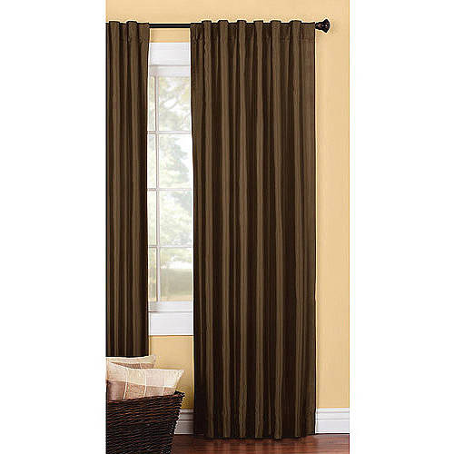 better homes and gardens solid lined faux silk window curtains multiple sizes available