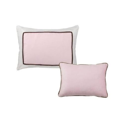 Bacati Metro Decorative Cotton Throw Pillow (Set of 2)