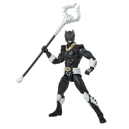 Bandai - Power Rangers Legacy Psycho Ranger, Black (Power Rangers Black Ranger)