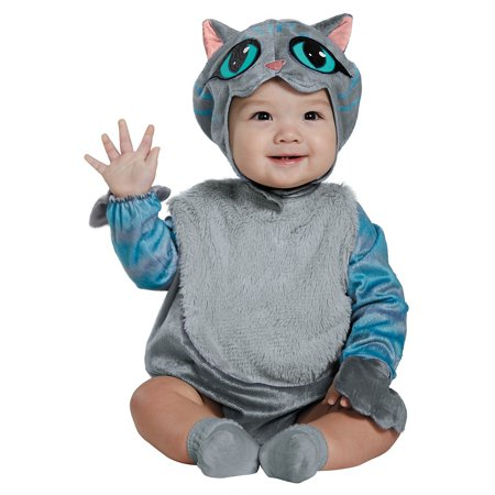 Disney Alice Through the Looking Glass Cheshire Cat Classic Child Halloween Costume - Halloween Cat Costume Nails